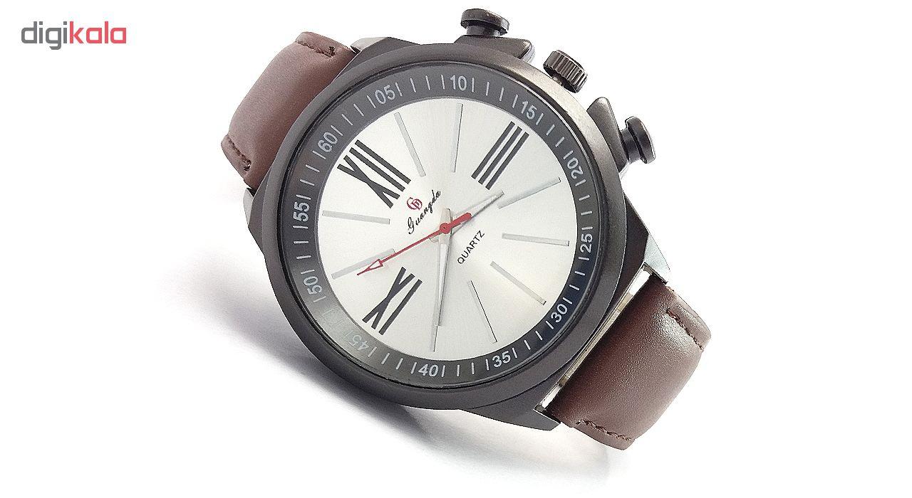 خرید ساعت مچی عقربه ای مردانه گوانگدا کد V854