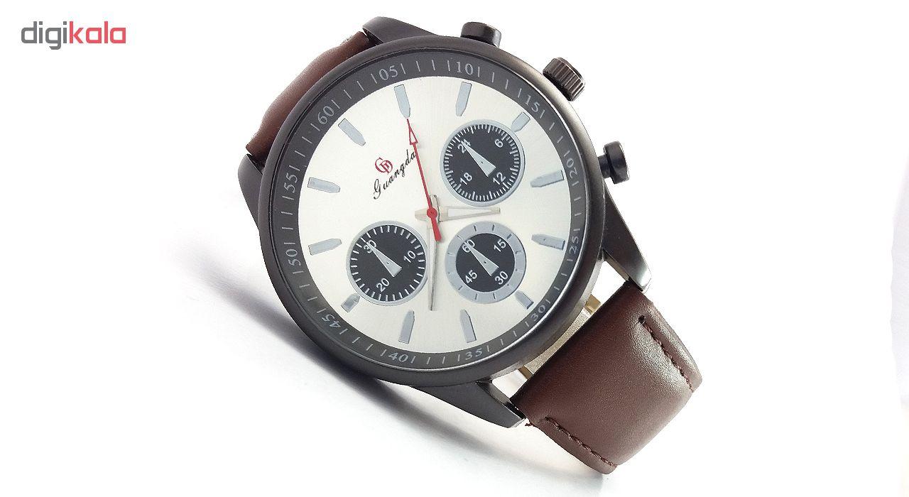 خرید ساعت مچی عقربه ای مردانه گوانگدا کد V856