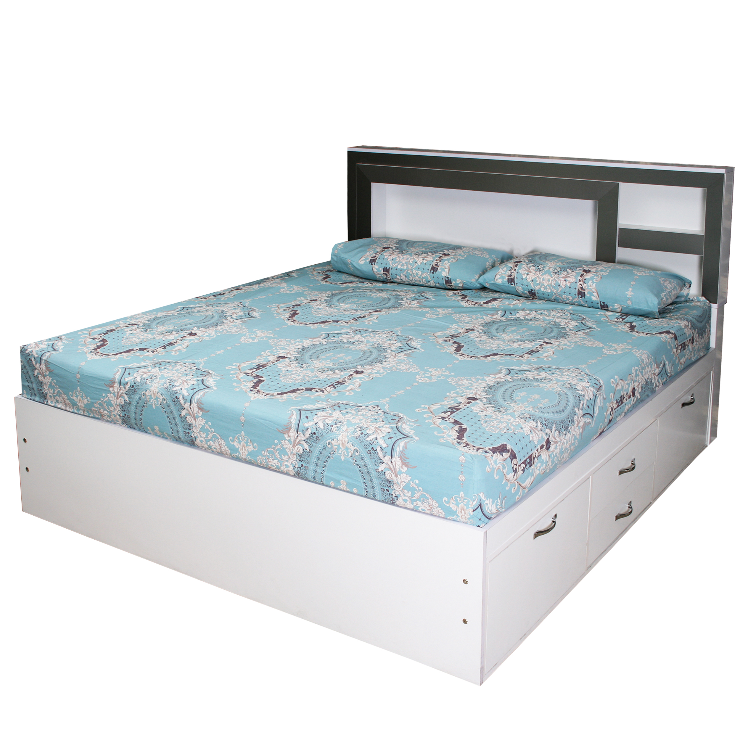 تخت خواب 2 نفره کد MD006 سایز 160×200 سانتی متر