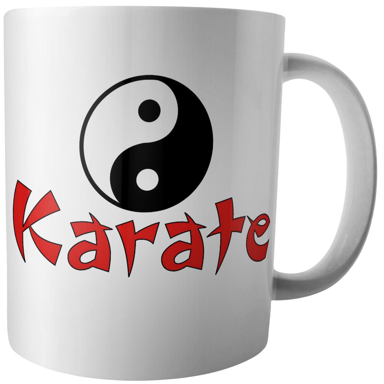 عکس ماگ آکو طرح کاراته مدل B398