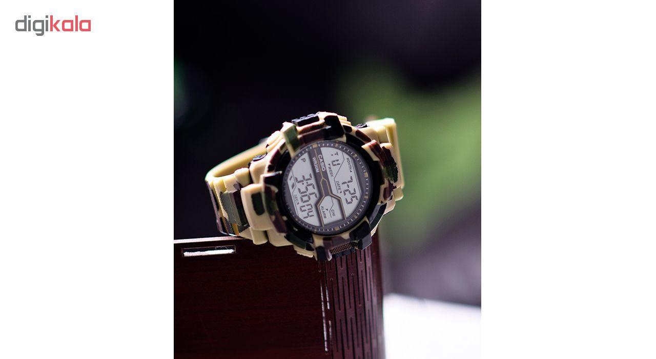 ساعت مچی دیجیتال مردانه مدل GSh-LeopardC