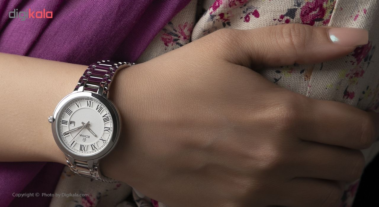 ساعت زنانه برند روینا مدل 55129-L1BW