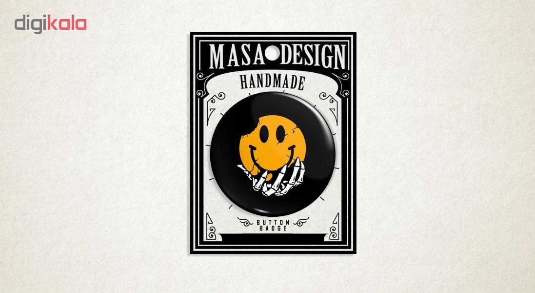 پیکسل ماسا دیزاین طرح اسکلت ایموجی استیکر کد ASB86
