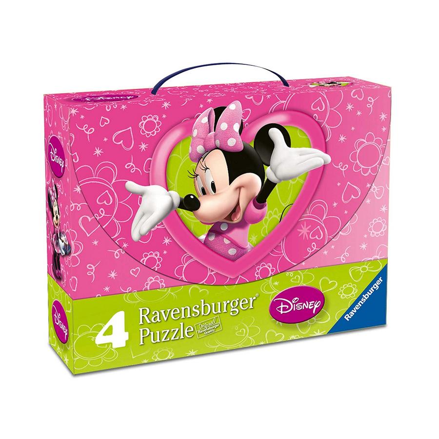 پازل 122 تکه راونزبرگر مدل Valigetta Minnie Mouse