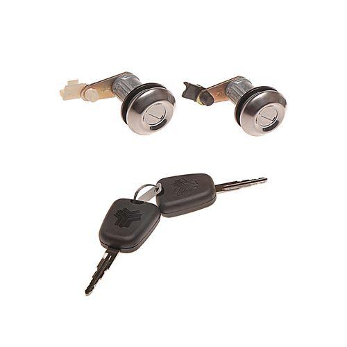 سوئیچ  و قفل اچ آی سی مدل 4807 مناسب برای پراید مجموعه 4 عددی