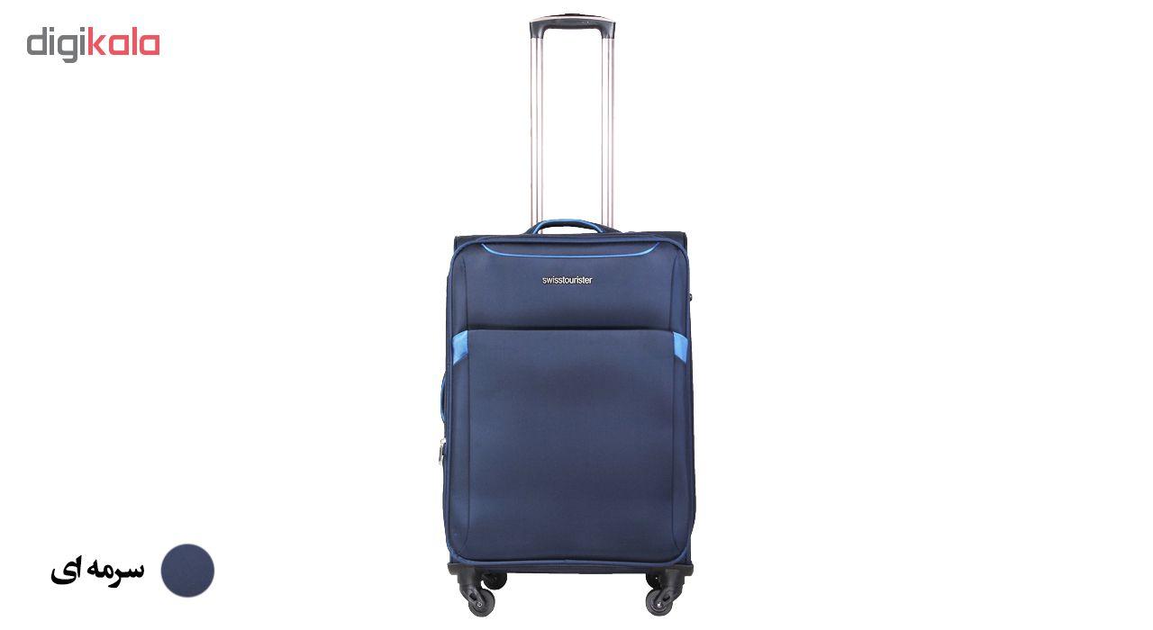 چمدان سوییس توریستر مدل 019030 سایز بزرگ