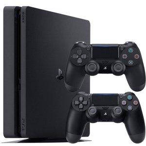 کنسول بازی سونی مدل Playstation 4 Slim ریجن 3 کد CUH-2218B ظرفیت 1 ترابایت
