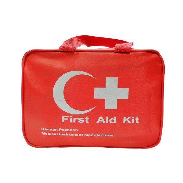 کیف کمک های اولیه درمان پژوه مدل first aid kit