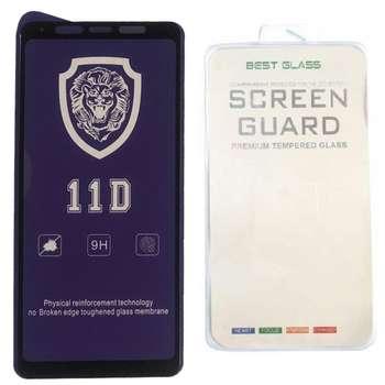 محافظ صفحه نمایش Full cover مدل 11D BEST GLASS مناسب برای گوشی موبایل سامسونگ Galaxy A9 Star