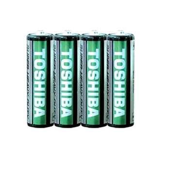 باتری نیم قلمی توشیبا مدل Super Heavy Duty بسته 4 عددی
