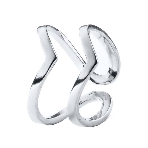 انگشتر نقره زنانه اقلیمه کد AN54