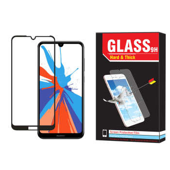 محافظ صفحه نمایش فول کاور hard and thick مدل ht-002 مناسب برای گوشی موبایل هوآوی Y7 prime 2019