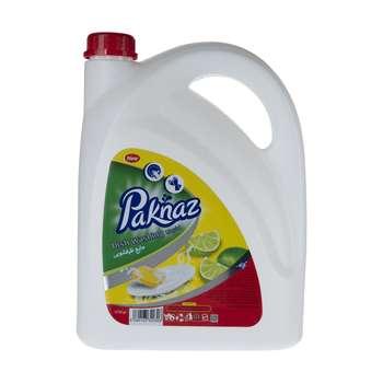 مایع ظرفشویی پاکناز مدل Lemon حجم 3750 میلی لیتر