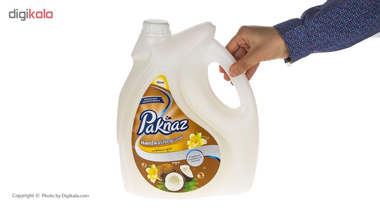 مایع دستشویی پاکناز مدل Coconut حجم 3750 میلی لیتر main 1 3