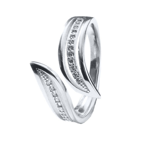 انگشتر نقره زنانه اقلیمه کد AN59