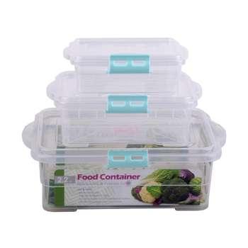 ظروف نگهدارنده غذا کد 24592 مجموعه 3 عددی