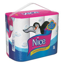 دستمال توالت نایس بسته 12 عددی