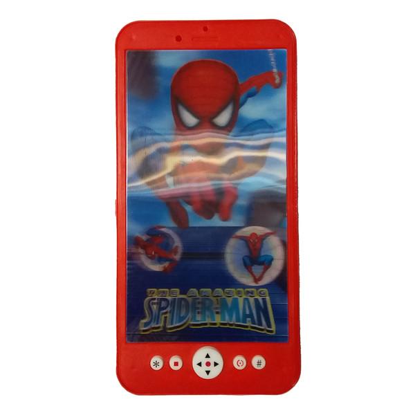 اسباب بازی موبایل طرح مرد عنکبوتی