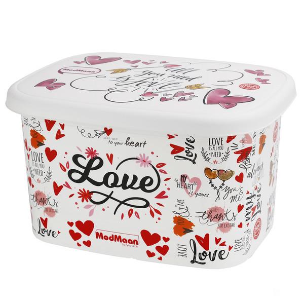 جعبه اسباب بازی کودک مدمان طرح قلب کد1