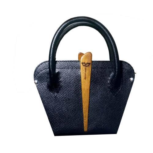 کیف چرم زنانه چوب چرم کد 1356