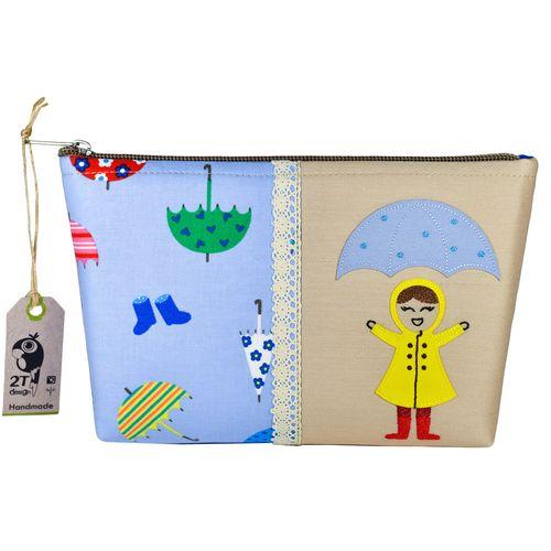 جامدادی طوطی دیزاین طرح دختر بارونی کد RG01