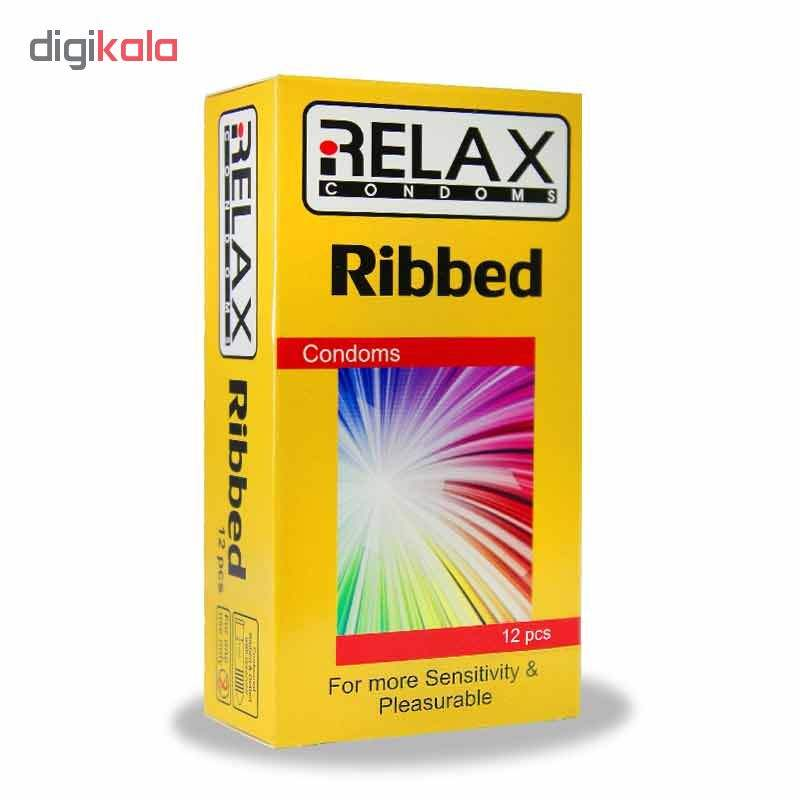 کاندوم ریلکس مدل RIBBED کد A10 بسته 12 عددی main 1 1