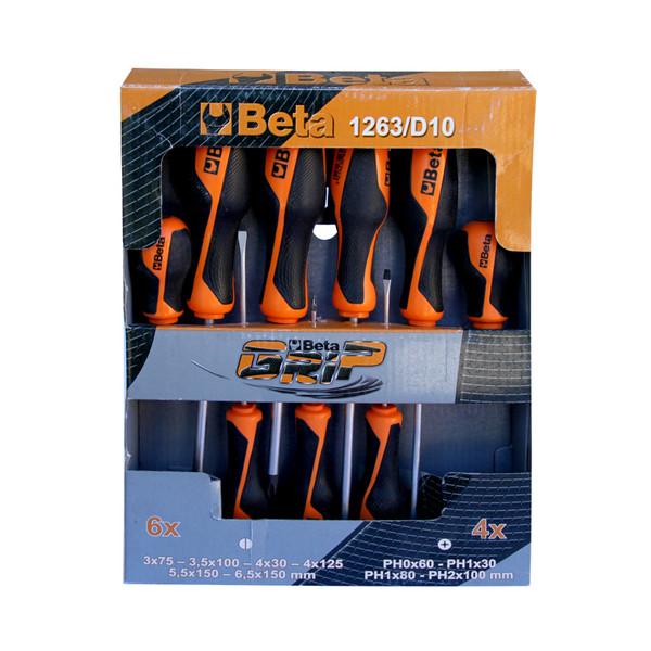 مجموعه 10 عددی پیچ گوشتی بتا کد 012630010
