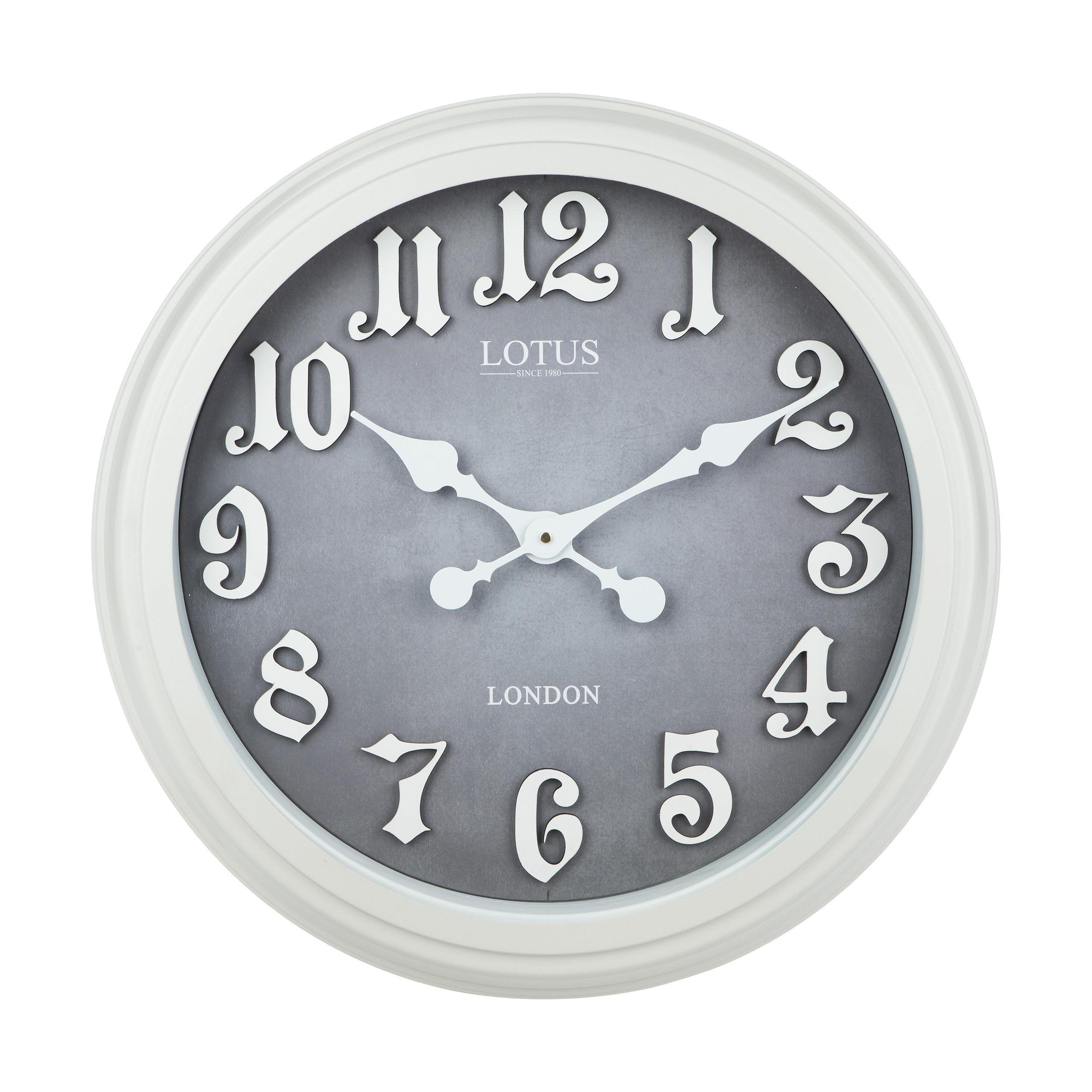 خرید ساعت دیواری لوتوس مدل Marysville 16030