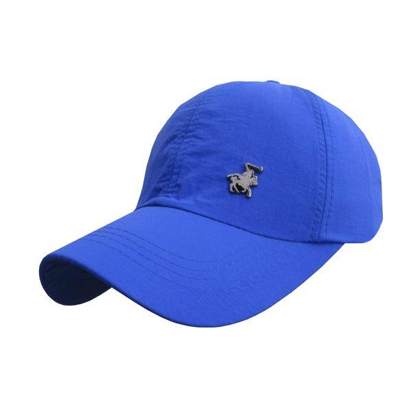 کلاه کپ مردانه مدل PL-01 کد 202 رنگ آبی