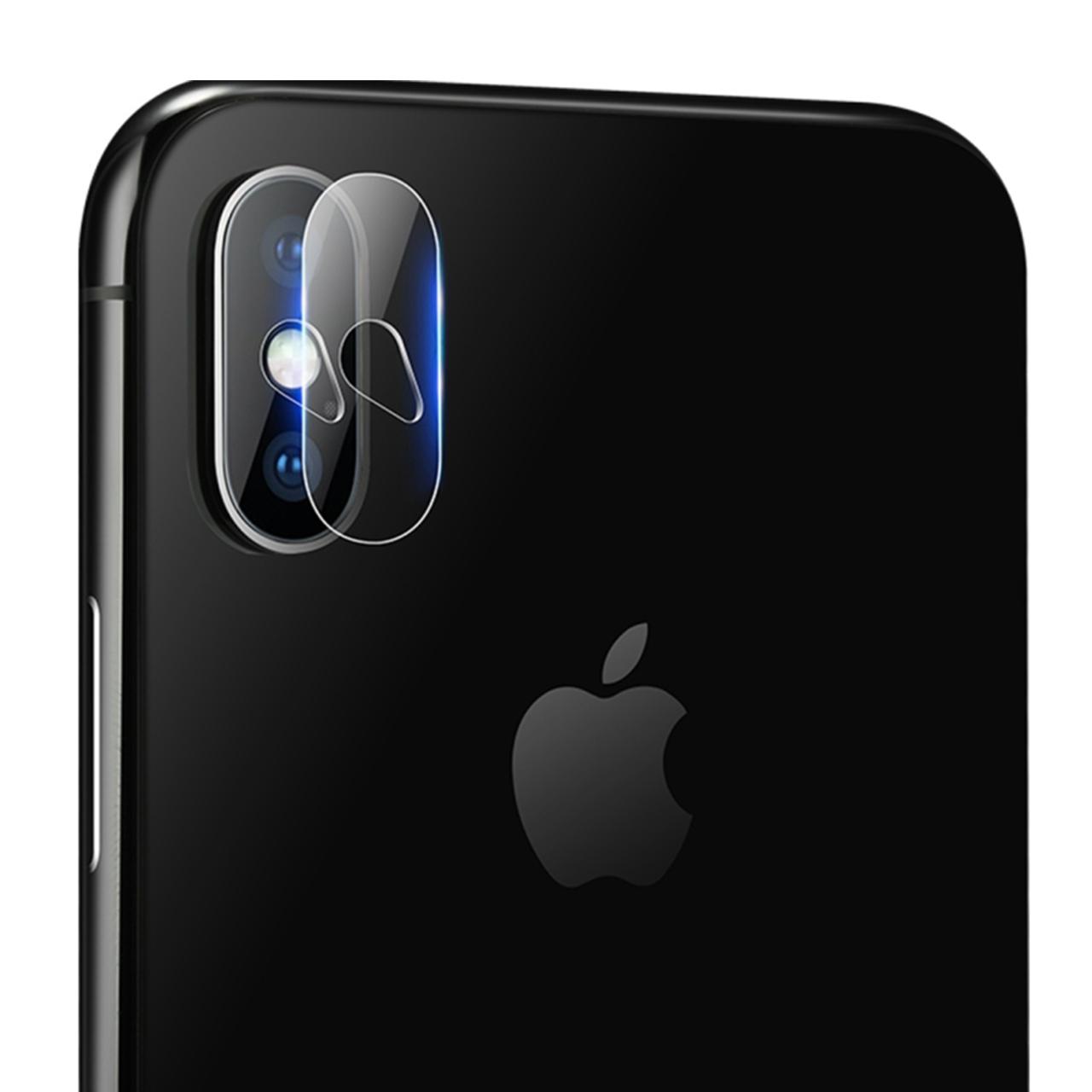 محافظ لنز دوربین مدل H4 مناسب برای گوشی موبایل اپل IPhone Xs Max