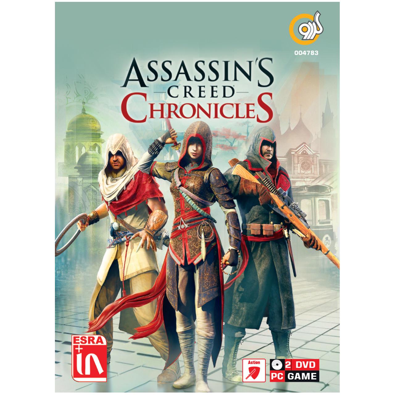 خرید اینترنتی بازی گردو Assassin's Creed Chronicles مخصوص PC اورجینال