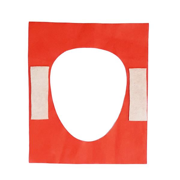 روکش یک بار مصرف توالت فرنگی کد 2 بسته 20 عددی