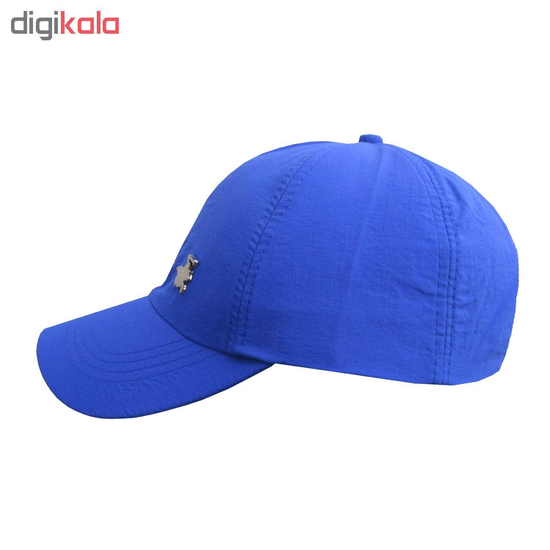 کلاه کپ مردانه مدل PL-01 کد 202 رنگ آبی main 1 2
