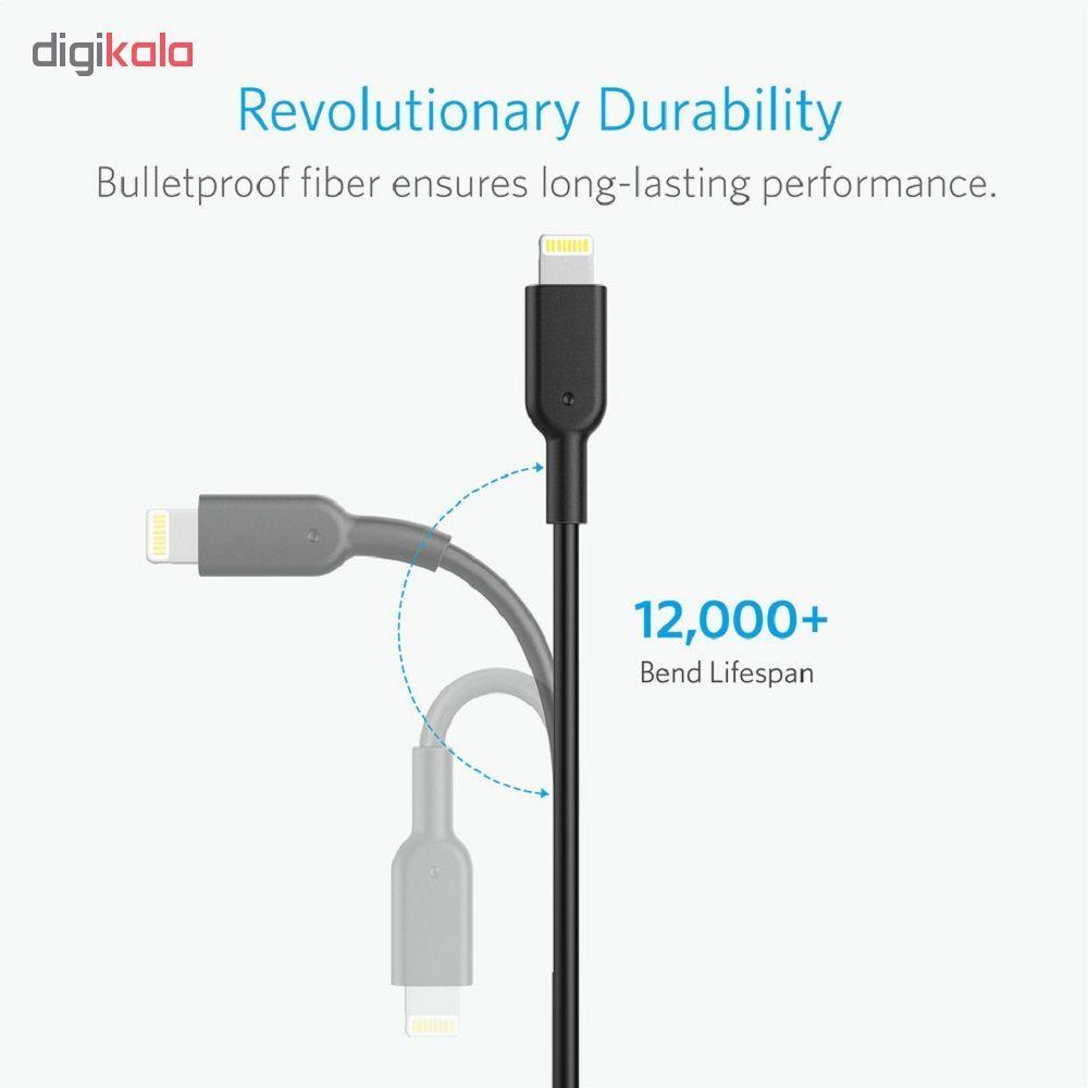 کابل تبدیل USB به لایتنینگ انکر مدل A8431  طول 0.3m main 1 4
