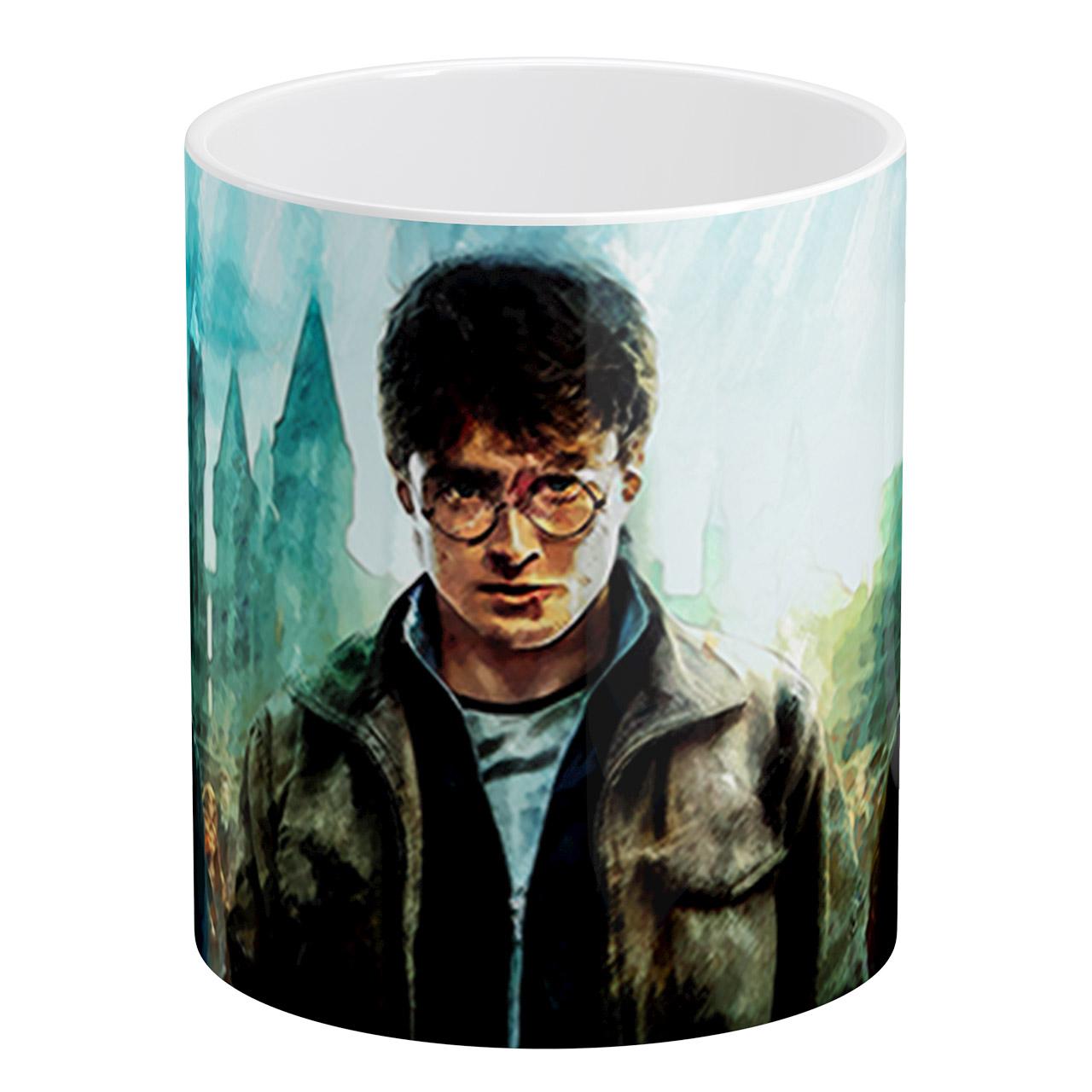 ماگ آبنبات رنگی طرح هری پاتر Harry Potter کد AR0767