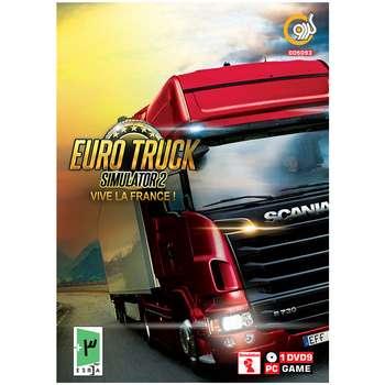 بازی گردو Euro Truck Simulator 2: Vive la France مخصوص PC