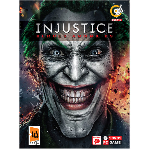 بازی گردو  Injustice Heroes Among US مخصوص PC