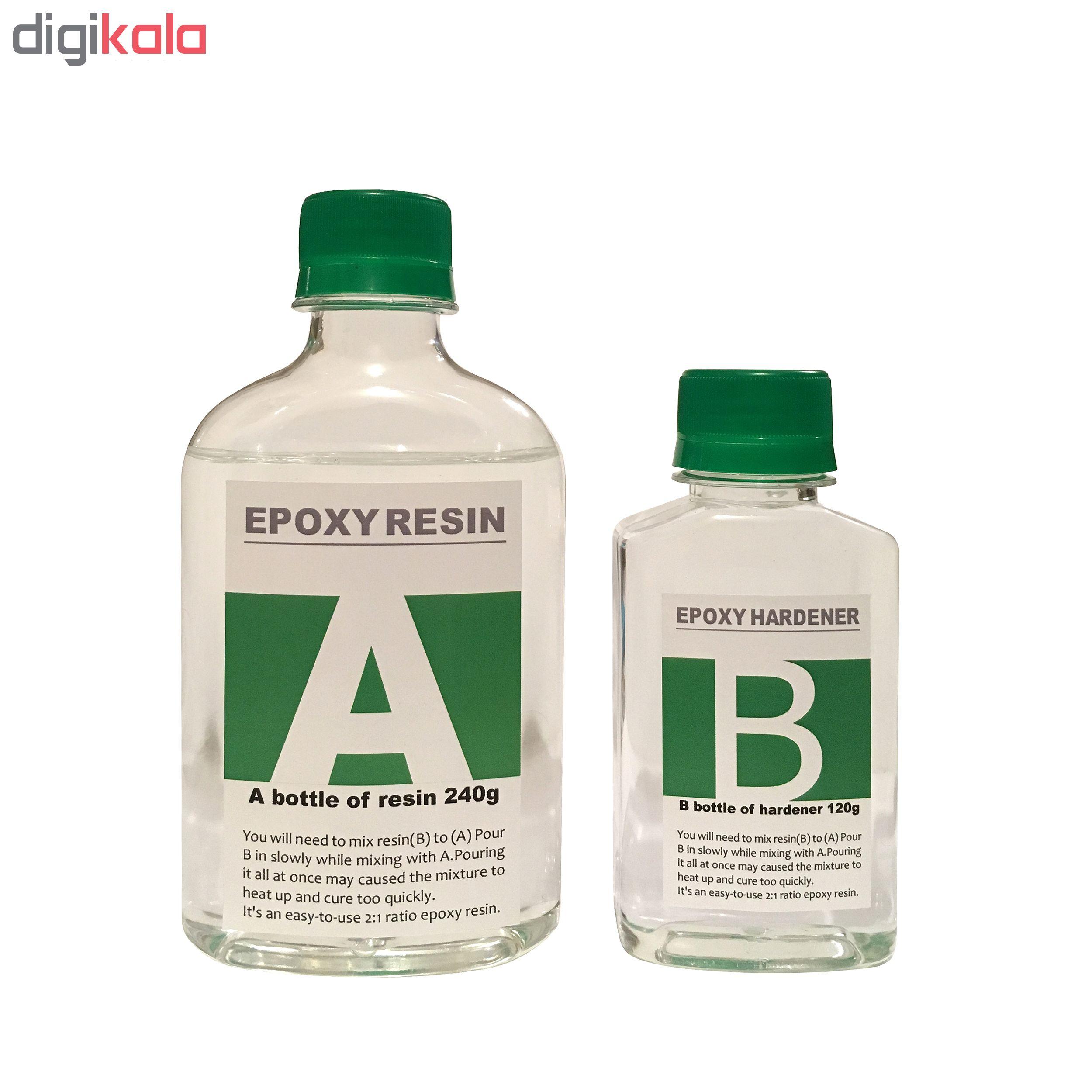 خرید                     مایع رزین اپوکسی دو جزئی مدل A-B کد RHG حجم 360 میلی لیتر
