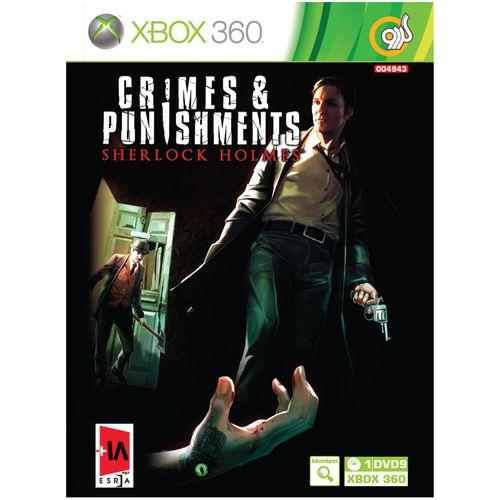 بازی گردو Sherlock Holmes Crimes & Punishments مخصوص XBOX 360
