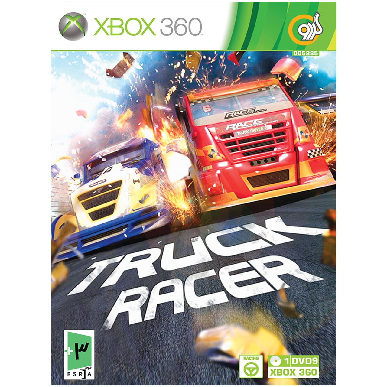 بررسی و {خرید با تخفیف} بازی گردو TRUCK RACER مخصوص XBOX 360 اصل