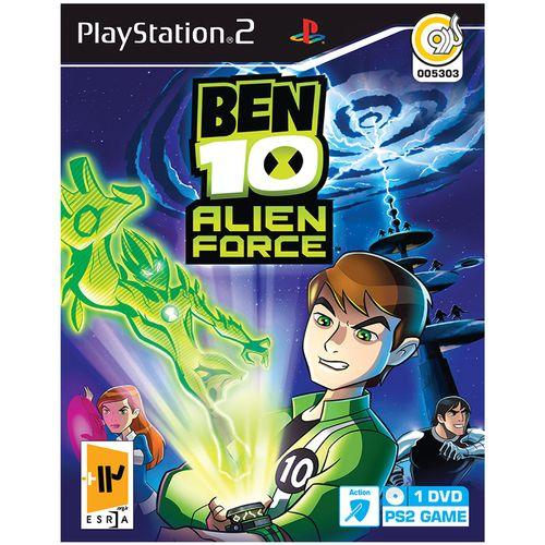 بازی گردو BEN 10 Alien Force مخصوص PS2