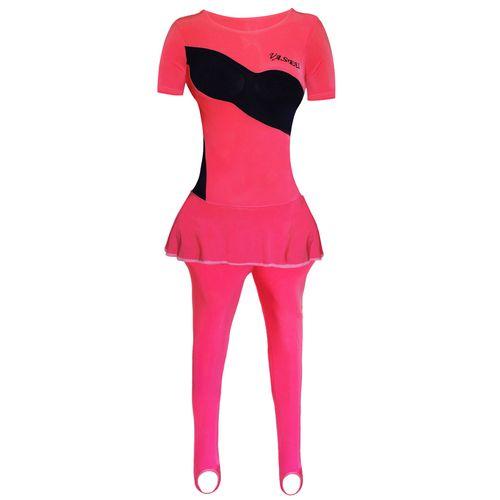 لباس ژیمیناستیک دخترانه واسعی مدل 005