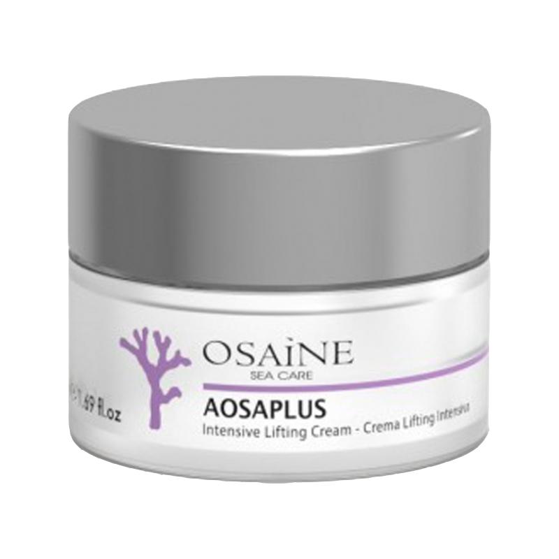 کرم سفت کننده پوست صورت اوزاین مدل AOSAPLUS حجم 50 میلی لیتر