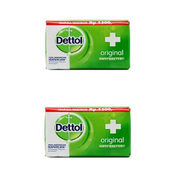 صابون ضد باکتری دتول کد 21006  وزن 105 گرم بسته 2 عددی