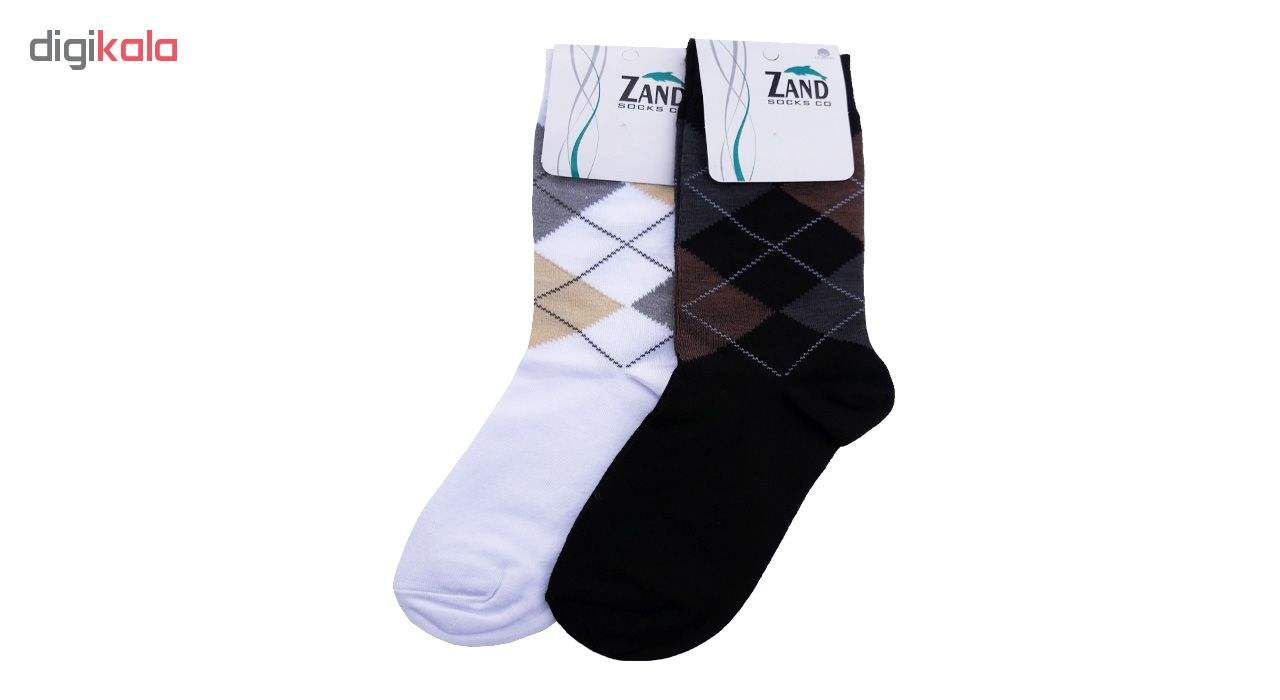جوراب مردانه زند کد 26 مجموعه 6 عددی main 1 2