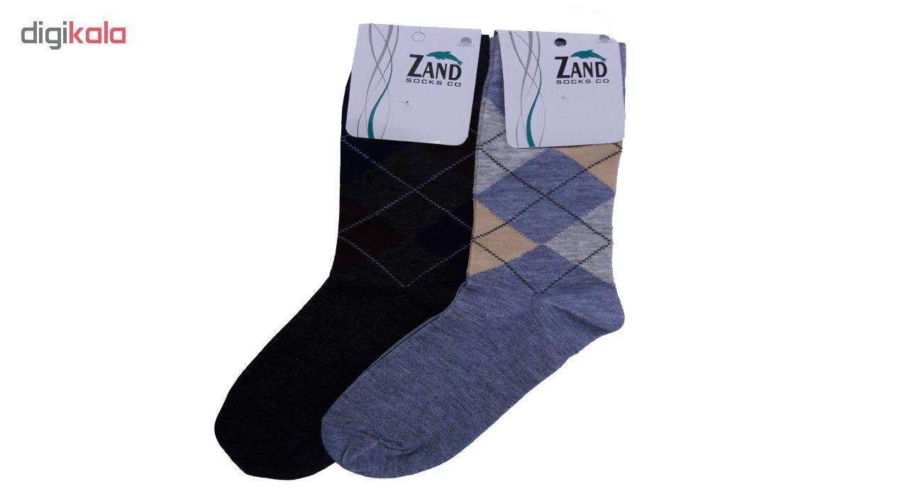 جوراب مردانه زند کد 26 مجموعه 6 عددی main 1 3