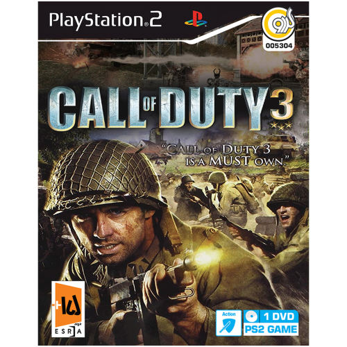 بازی گردو Call of Duty 3 مخصوص PS2
