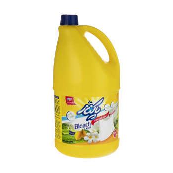 مایع سفید کننده پاکناز مدل Lemon حجم 4000 میلی لیتر