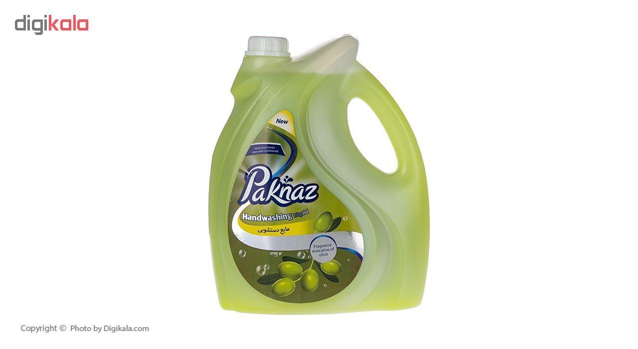مایع دستشویی پاکناز مدل Olive حجم 3.75 لیتر main 1 1