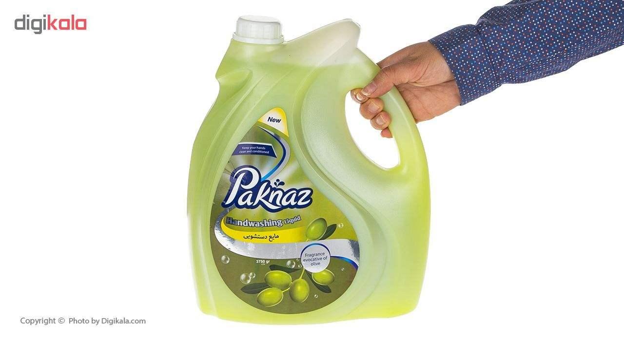 مایع دستشویی پاکناز مدل Olive حجم 3.75 لیتر main 1 3